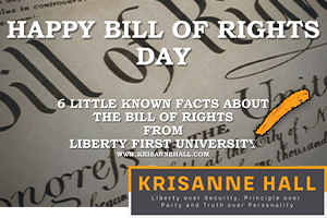 6 Little Know Facts About The Bill of Rights