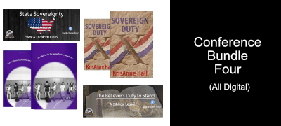 State Sovereignty/The Morality of Resistance/The Believer's Duty to Stand/Sovereign Duty/ Essential Stories for Junior Patriots