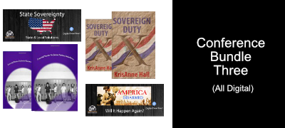State Sovereignty/America Disarmed/Sovereign Duty/ Essential Stories for Junior Patriots