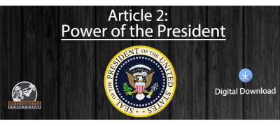 Article 2: Power of the President